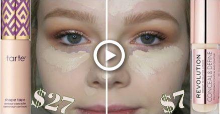 Ist es ein Betrüger? | Tarte Shape Tape Fair gegen Makeup Revolution Verbergen & Definieren C1   – Nails & MakeUp!