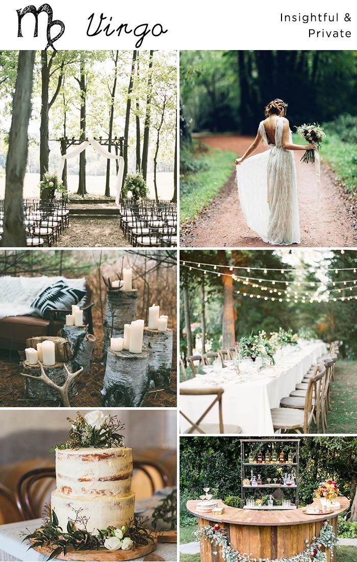 Predictions For Your Wedding Decor Based On Your Zodiac Sign