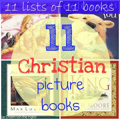 11 Christian Picture Books with reviews   Le Chaim (on the right)