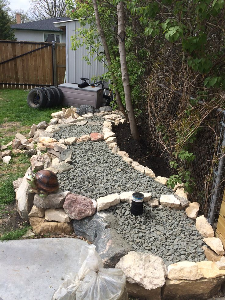 Slowly coming along #diy rock garden