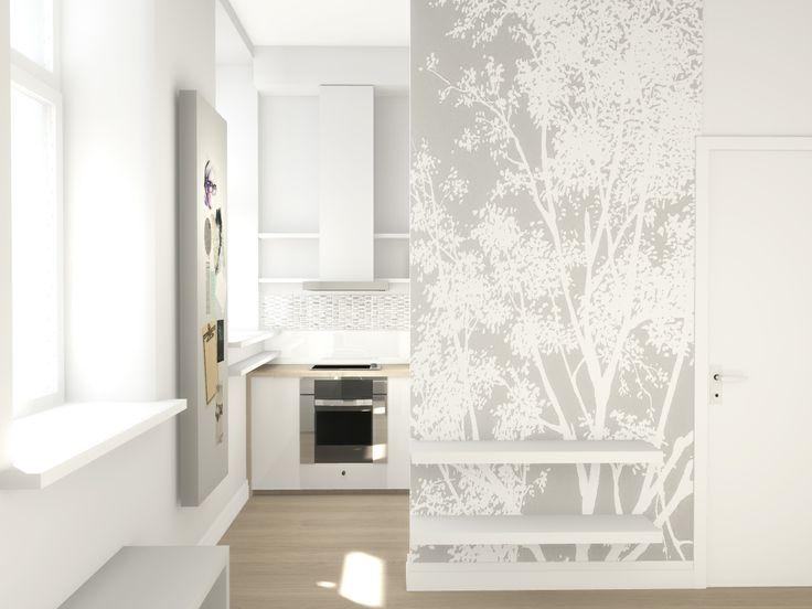 Small space design | Kitchen ideas | by Magda Piekarska