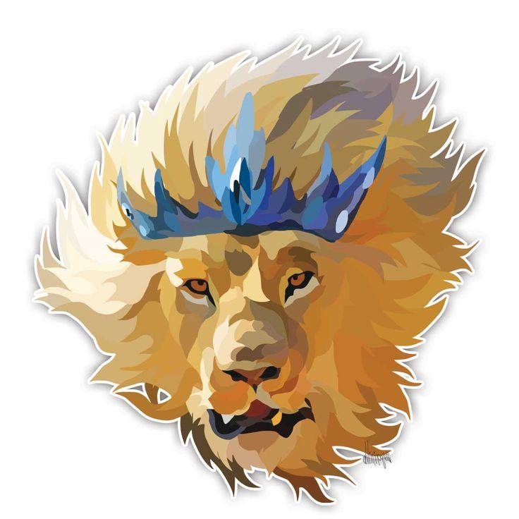 lion from doliminoque studio #lion #king #Luke13:30