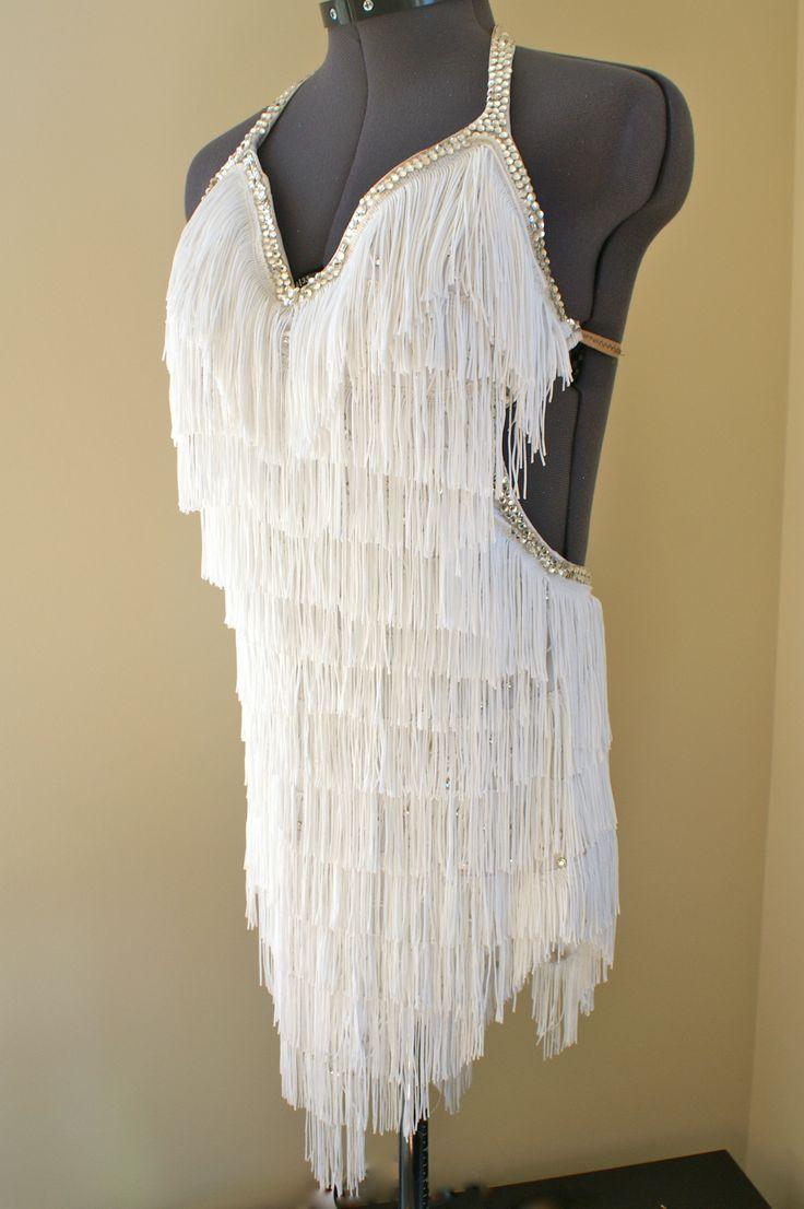 Fringe Latin dress