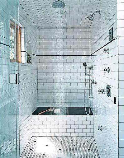 azulejo metro en el baño