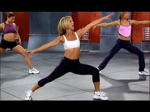Denise Austin: Legs & Buns Workout Level 3====good variety of leg and glute exercises.  Muscle Challenge/Butts & Gutts.
