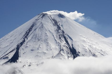 Russia's Far East region is full of volcanoes, including some of the largest in Eurasia. Take a look at 12 of these enchanting giants that form Russia's link in the Pacific Ring of Fire.