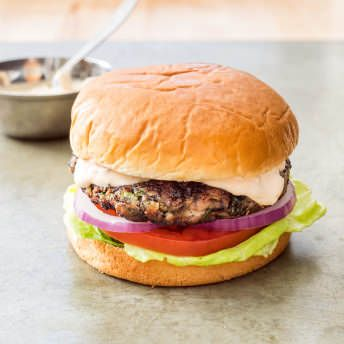 Recipe America S Test Kitchen Black Bean Burgers Tortilla Chips