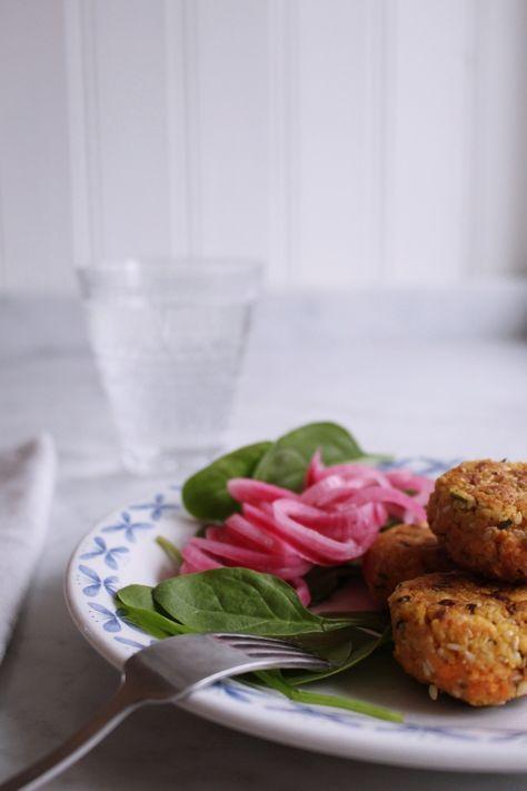 Recept på biffar med morot och röda linser! – Julia Khouri