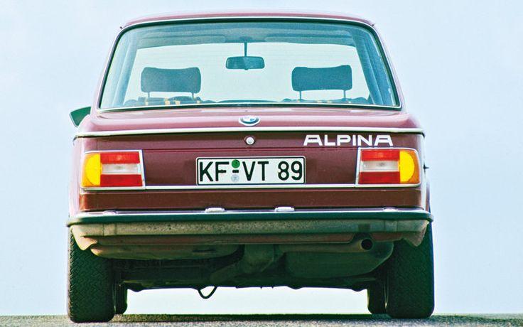 Alpina 1502 ...the first Alpina