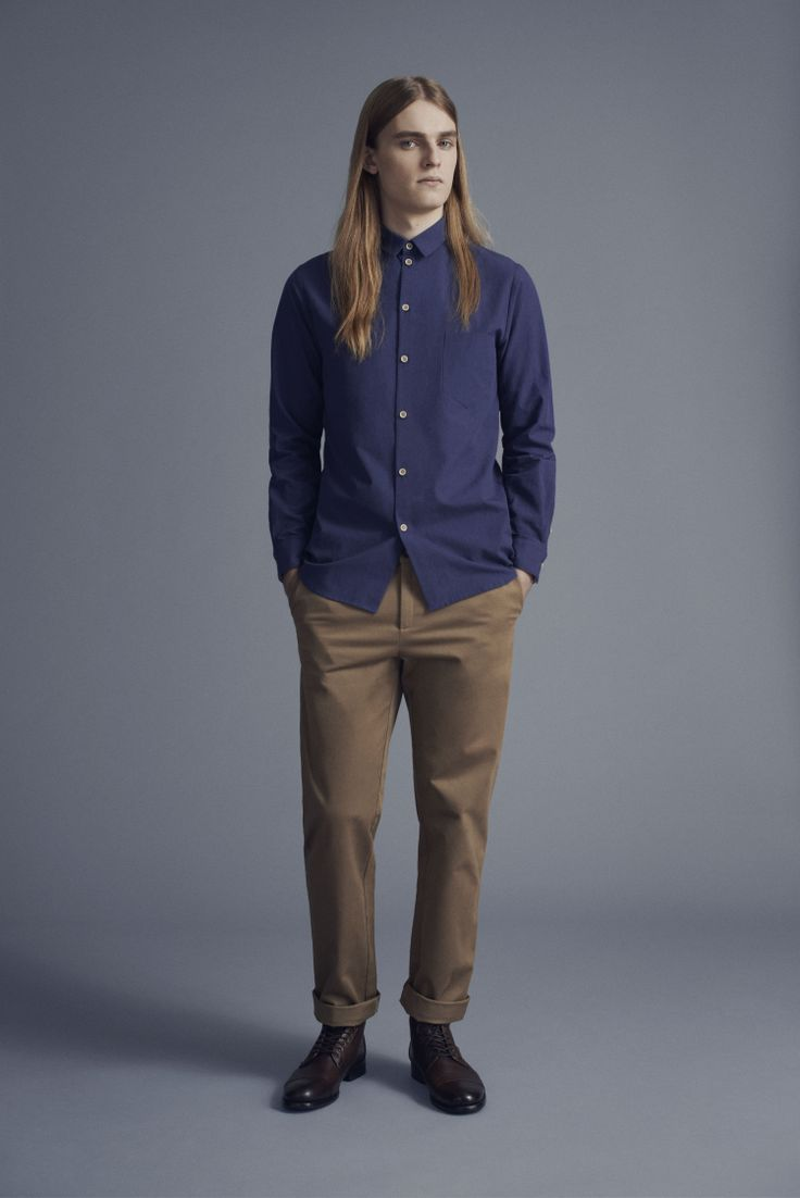 Tela Shirt and Dalek Trousers | Samuji Man Capsule Collection