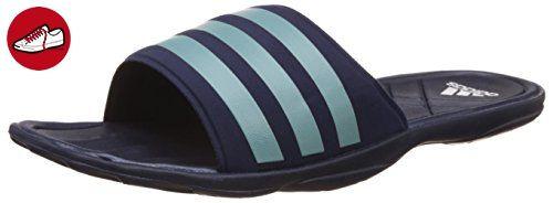 adidas Herren Adipur Slipper Aqua Schuhe, Blau (Collegiate Navy/Vapour Steel/Clear Grey), 42 EU - Adidas schuhe (*Partner-Link)