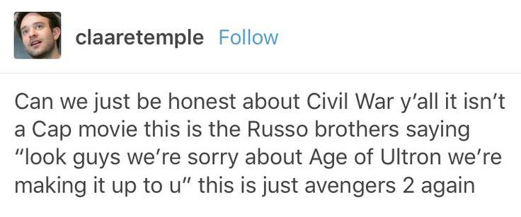 Avengers age of Ultron aou captain America civil war