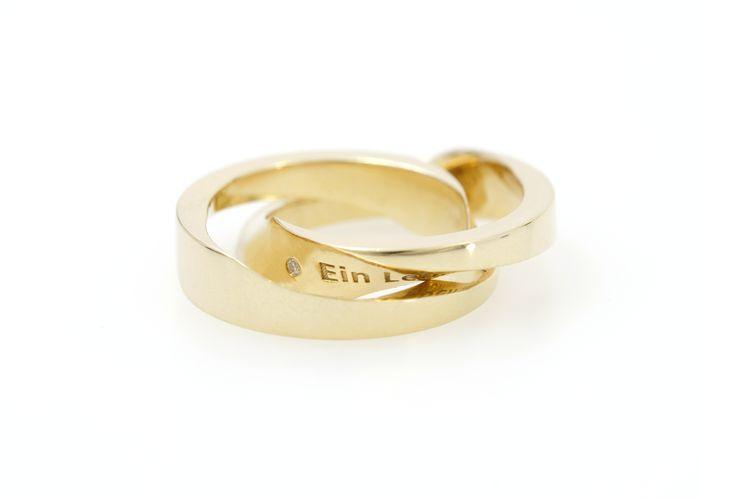 Aion - Die feine Linie ist ein Schnitt, die den Ring zerteilt. Und es verbirgt sich etwas im Innern.