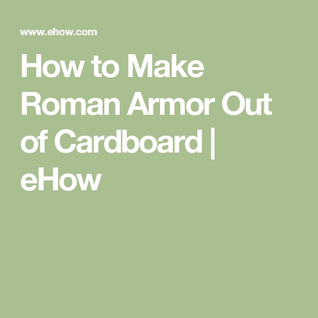 how to make shoulder armor out of cardboard