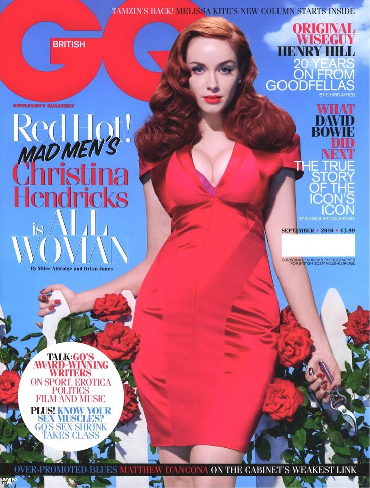 _Christina_Hendricks_GQ_Magazine uk
