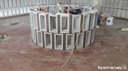 큐블럭-디자인 블럭, 인테리어 블록, 콘크리트 블록, 다양한 디자인 조적시공, 조적쌓기 : 네이버 블로그