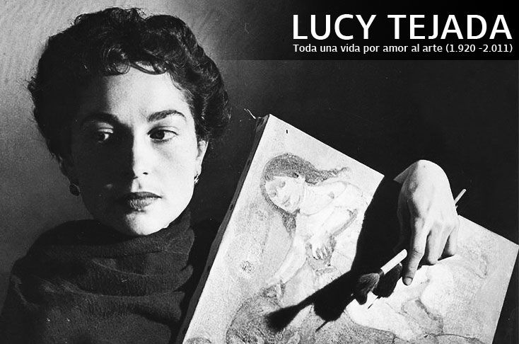 Oh, and this is Lucy Tejada
