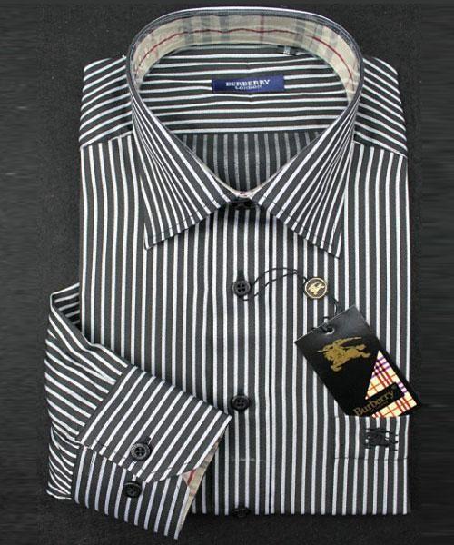 Shirts Burberry Manniskan HU34Shirts Burberry Manniskan Sleeve Lang Svart Rayas Och Mer Asequible