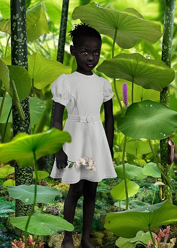 World 1 PHOTOGRAPHY: Ruud Van Empel  Black Venus