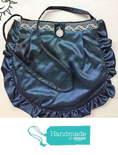 BORSE SOLE LUNA - piccola borsa blu con volant - pezzo unico fatto a mano da Soleluna handmade creations https://www.amazon.it/dp/B072HZ8PCQ/ref=hnd_sw_r_pi_dp_dWihzbEHGX1E9 #handmadeatamazon