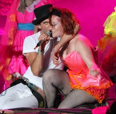 Mika and a very lucky Big Girl @ Balaton Sound Festival, Hungary 8.7.2011