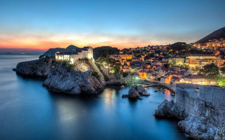 Geceleri Dubrovnik...