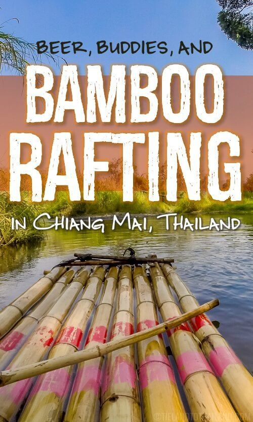 Gather your friends, grab a few cold ones, and head to the jungle for fun times cruising down the river on a bamboo raft! Map included. | Tieland to Thailand