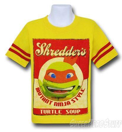 Images of TMNT Shredder's Turtle Soup Kids T-Shirt