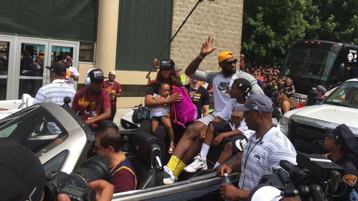 It's A Celebration: LeBron James Wears The Nike LeBron 2 Oregon PE For Championship Parade