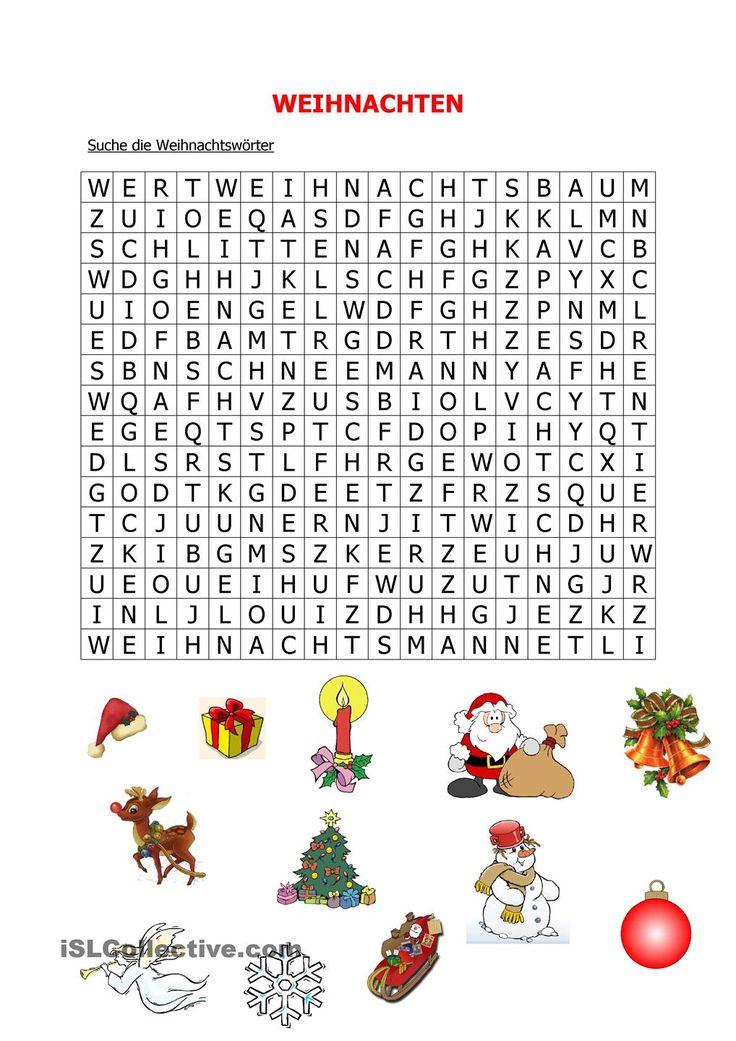 Weihnachten   Frei DAF worksheets leuke sponsopdracht