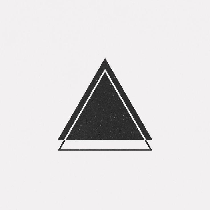 best 25 geometric triangle tattoo ideas only on pinterest