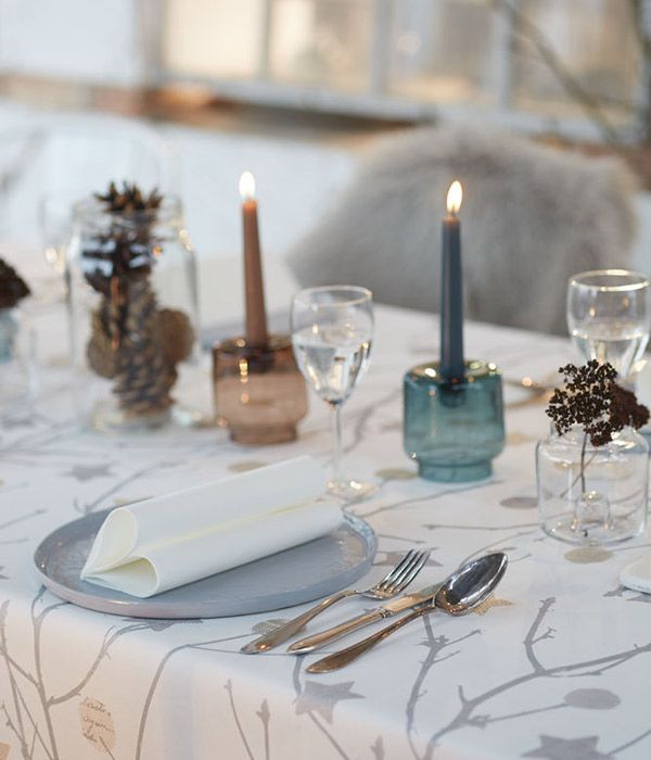 wintertime - table setting for winter goodfoodmood