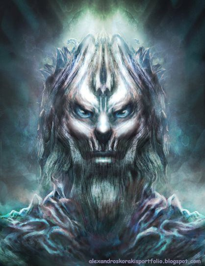 WHITE WALKER FAN ART Alex Korakis net by alexkorakis on DeviantArt