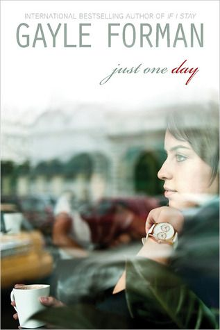 Just One Day by Gayle Forman. I just devoured this one. It was a wonderful, wandering look at a young woman who gains and loses something, then realizes she herself is lost. Plus some serious swoon, made me old heart smile.
