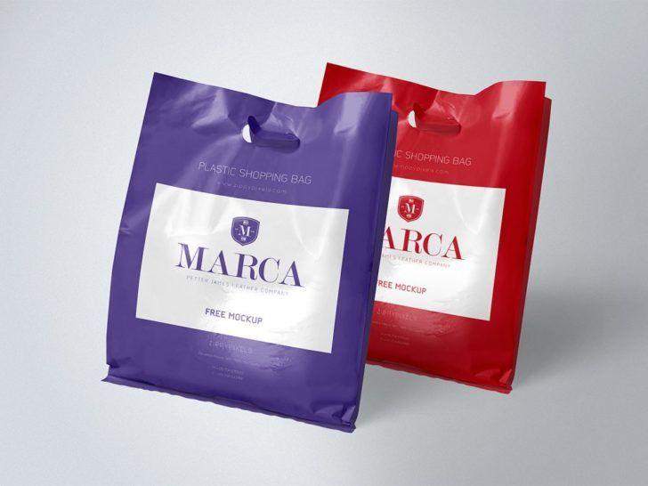 Download Plastic Shopping Bag Mockup Free Package Mockups In 2020 Bag Mockup Free Packaging Mockup Plastic Bag