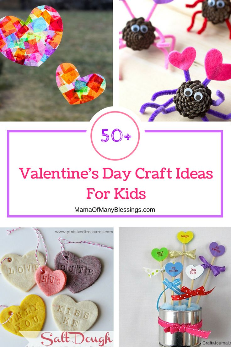 50 Awesome Quick And Easy Kids Craft Ideas For Valentines Day Perfect