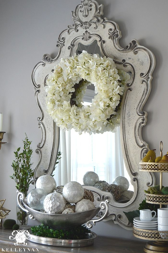 Kelley Nan: DIY: Easy Spring Hydrangea Wreath
