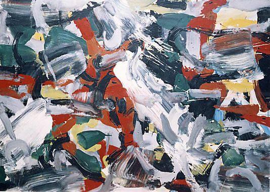 """Untitled"", Jean-Paul Riopelle"