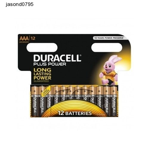 Duracell Batteries Pack Of 12  Plus Power Alkaline Aa Size Car Radio Tv Remote