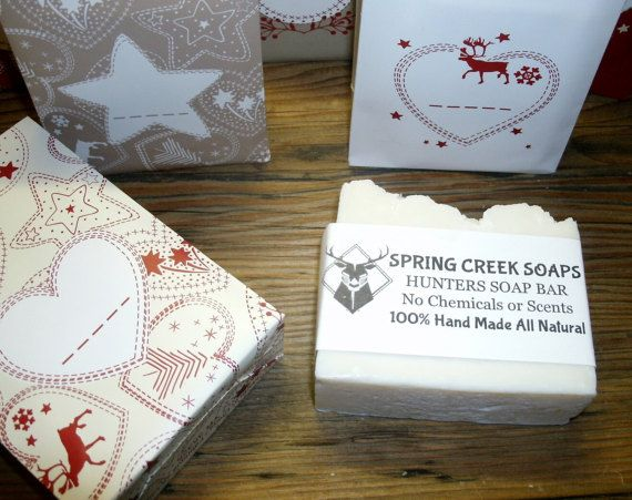 HUNTERS SOAP BAR  No Chemicals or Scents by SpringCreekSoapsND
