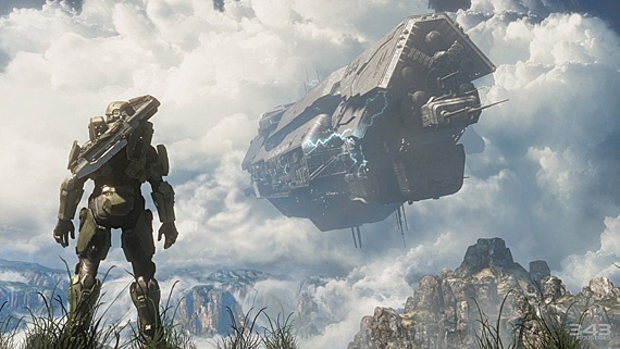 Halo 4! Oh boy, oh boy, oh boy! Looks amazing!