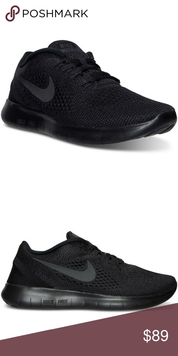 Brand new in box all black nike free run Brand new in box all black nike free run. 100% authentic. Ask your size i just might have it Nike Shoes Sneakers