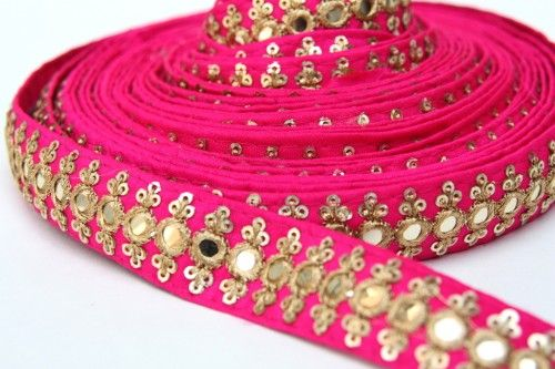 Where to Buy, Sari Trim, Indian Lace Trim, Saree Embroidery, By Yard
