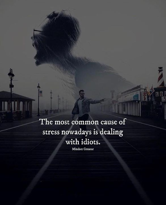 The most common cause of stress.. | Deep thoughts | Quotes
