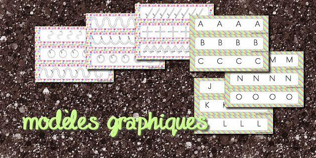 La maternelle de Laurène: Modèles graphismes