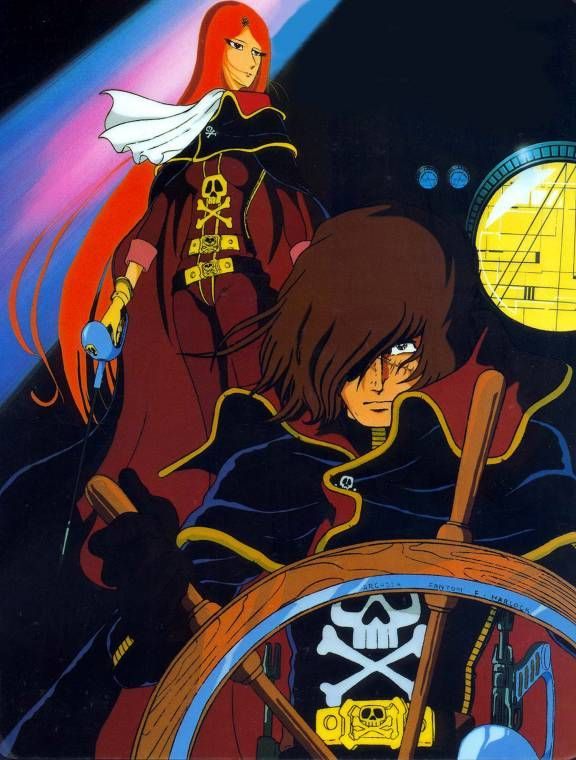 captain harlock   Personal Favorite: Captain Harlock: Arcadia of My Youth