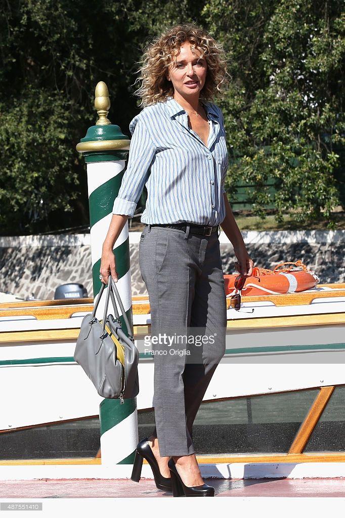 Valeria Golino is seen on day 9 of the 72nd Venice Film Festival on September 10, 2015 in Venice, Italy
