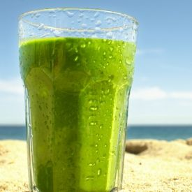 The Spinach Banana Smoothie  [Hurry The Food Up] eat365.com.au