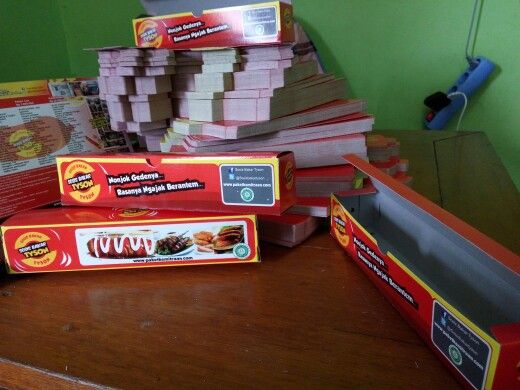 Kotak kemasan sosis bakar tyson www.paketkemitraan.com #sosis #sosisbakar #paketkemitraan