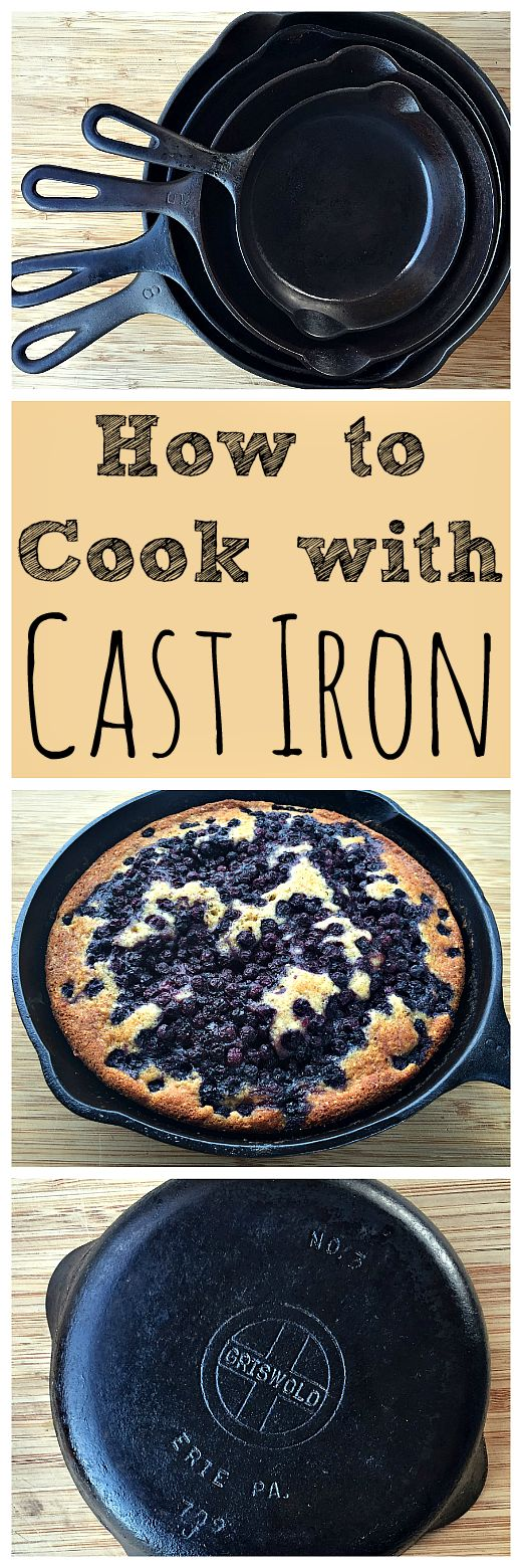 Cooking with cast iron may seem fussy or difficult, but it's really not! Learn how to cook with and care for your cast iron cookware.